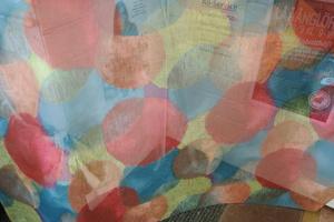 Pearl tunn voal i multi färg