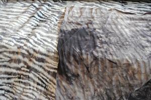svart viskosjersy med melerad baksida