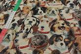 Gobeläng med hundar