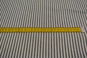 Svanefors vävd vit och mörkblå rand