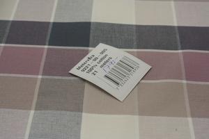 5x5 cm stora rutor i grå och rosa nyanser
