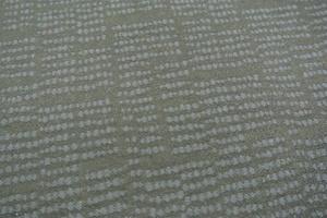 marinblå botten med ljusblå prickar