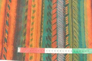 Regnbågsfärgat bomullstyg