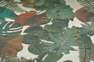 Svanefos monstrea grön och rost